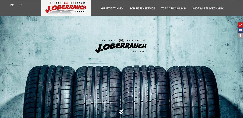 Oberrauch: progetti web Profi Webmedia